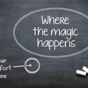 Fuori dalla comfort zone